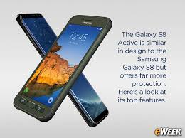 Galaxy Rugged Samsung Adds More Protection With Galaxy S8 Active Smartphone