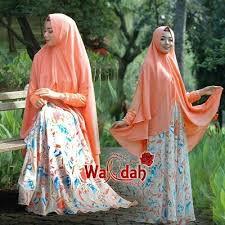 Wardah Okt by wardah bahan dress cattarina crep jersey dada ld 100