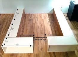 Build Bed Frame With Storage Build Bed Frame With Storage Best Storage Bed Ideas On Bed Frame