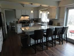 Modern Kitchen Island With Seating Kitchen Room Cool Curve White Modern Kitchen Island With White