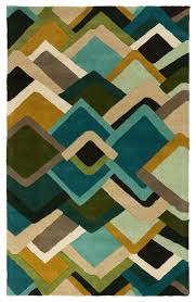 Turquoise And Gray Area Rug Envelopes Area Rug 2 U0027x3 U0027 Contemporary Area Rugs By Buyarearugs
