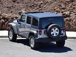 silver jeep rubicon 2016 jeep wrangler unlimited sport silver rear photos 20