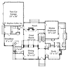 master up floor plans country style house plan 4 beds 3 5 baths 3700 sq ft plan 429