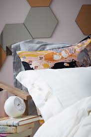 Mirror As A Headboard Bedroom Update Create A Diy Fabric Tape Headboard Decorate With
