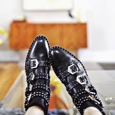 womens boots in style 2017 2017 fashion studded ankle boots rivet buckle martin