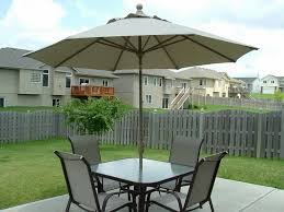 Outdoor Patio Sets With Umbrella Patio Table Chairs And Umbrella Sets Awesome Small Patio Set With