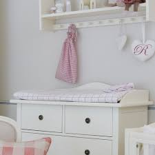 Nursery Dresser With Changing Table Nursery Dresser Changing Table Nordic Style 6 White Drawer Ba