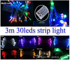 light and battery store 3xaa battery powered mini fairy lights 3m strip christmas decor