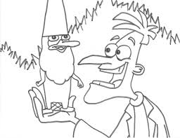 phineas and ferb coloring pages 11 coloring kids
