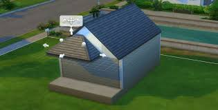 Hipped Roof House The Sims 4 Building Roofs