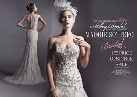 wedding dress on sale the rack dress sale bridal maggie sottero wedding