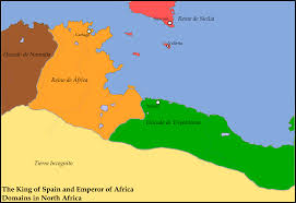 Map Of Spain And Africa by Motf 132 Deus Vult Alternate History Discussion