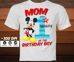 mickey mouse 1st birthday shirt mickey mouse birthday t shirt disney iron on transfer of
