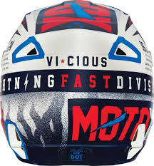 discount youth motocross gear 119 95 fox racing youth v1 vicious dot helmet 234831
