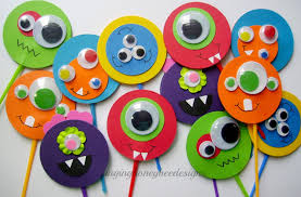 Moshi Monsters Halloween by Monster Cupcake Toppers Monster Bash Cake Toppers Monster