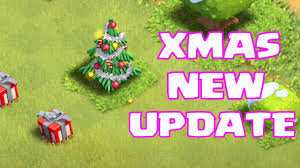 clash of clans new xmas update trees w gifts now youtube