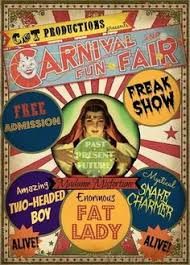 Creepy Carnival Decorations Freak Show Halloween Decorations Yahoo Image Search Results