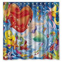 The Little Mermaid Shower Curtain Popular Mermaid Bathroom Buy Cheap Mermaid Bathroom Lots From