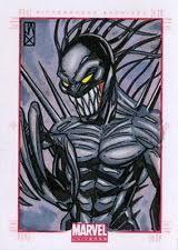 venom sketch card ebay