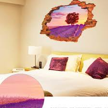 online shop latest cute romantic lavender bedroom living room wall