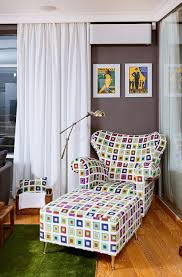 kiev apartment decor with stylish details idesignarch interior colorful armchair sofa contemporary apartment in kiev
