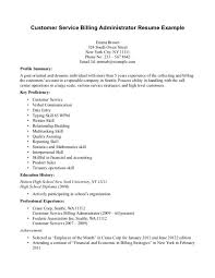 Billing Specialist Resume Sample by Cover Letter Sample Resume For Medical Billing Example Resume For