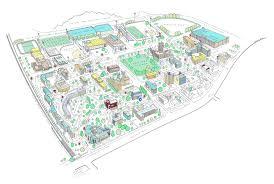 La Salle Campus Map Chris Dent Portfolio
