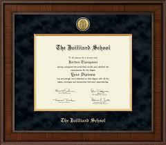 diploma frames the juilliard school diploma frames church hill classics