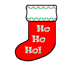 holiday clipart christmas stocking pencil and in color holiday