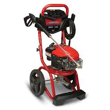 shop troy bilt 2500 psi 2 3 gpm water gas pressure washer at lowes com