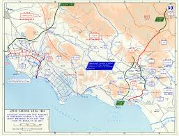 Rome Italy Map Map Of Breakout At Anzio Italy And The Allied Advance To Rome