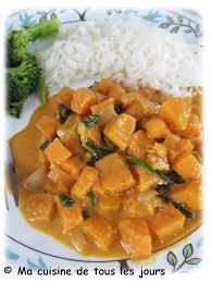cuisine de tous les jours ma cuisine de tous les jours curry crémeux de patates sucrées à la