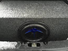 stock radio rcu aftermarket amp and sub findings taurus car