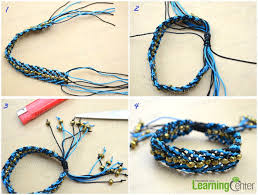 make friendship bracelet beads images How do you make adjustable macram beaded friendship bracelet step jpg