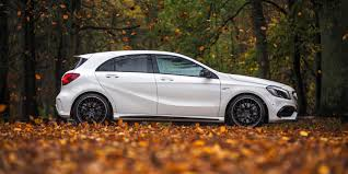 mercedes hatch amg mercedes a45 amg review carwow