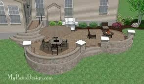 Ideas For Backyard Patios Patio And Deck Ideas For Backyard Backyard Patio Deck Large And