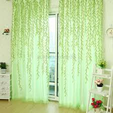 Vintage Green Curtains Awesome Green Sheer Curtains And Vintage Green Curtains Pair Of