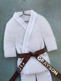 brown belt martial arts uniform personalized karate