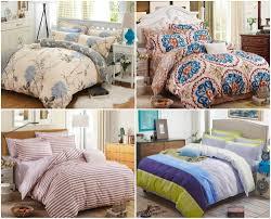 elegant floral bedding set polyester cotton bed linen sets 4pcs