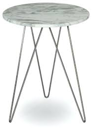 white marble accent table geometric base white marble top accent table brass geometric base