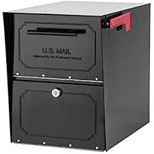 amazon oasis black friday mail boss 7506 mail manager locking security mailbox black