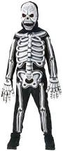 Skeleton Halloween Costume Kids Kids Glow In Dark Skeleton Costume Costume Craze