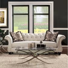 Tufted Sofa And Loveseat by Amazon Com Metro Shop Furniture Of America Agatha Traditional