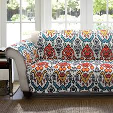 Ikat Home Decor Fabric by 8 Ways To Fall Into Autumn With Rich Rust Colored Home Decor