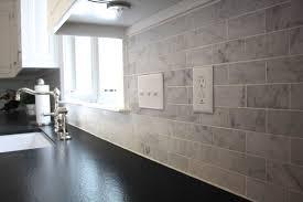 kitchen design ideas carrara marble tile backsplash the elegance