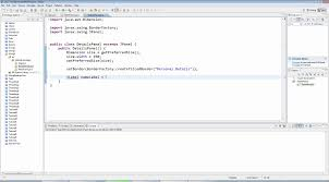 gui swing advanced java swing gui programming part 3 panels and forms