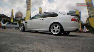 kereta bmw 5 series bmw e46 coupe modified murauchi bmw pacg 2016 youtube