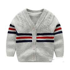 baby boy sweater cotton sweater baby fashion infant clothes button boys sweater