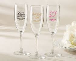 personalized bridal shower favors personalized bridal shower and wedding favors chagne flute my