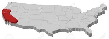 california map in usa where is california location of california map of the united us